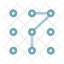 Pattern Pattern Lock Lock Icon