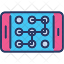 Mobile Lock Recognition Icon