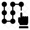 Pattern Lock Draw Pattern Phone Pattern Icon