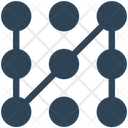 Pattern Lock Security Icon