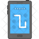 Mobile Security Smartphone Icon
