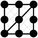 Pattern Recognition Machine Learning Data Science Icon