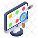 Pattern Detection Pattern Recognition Monitor Pattern Recognition Icon