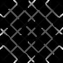 Lock Dots Grid Icon