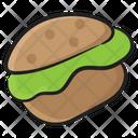 Patty Burger Icon
