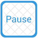 Pause Function Keyboard Icon