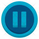 Pause Media Player User Interface Icon