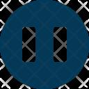 Pause Button Media Icon