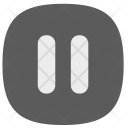 Pause Player Button Icon