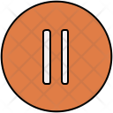 Pause Button Music Icon