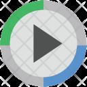 Pause Button Audio Icon