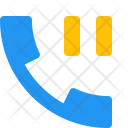 Call Pause Phone Icon