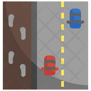 Pavement Route Road Icon