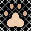 Paw Animal Footprint Icon