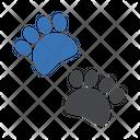 Paw Cat Dog Icon