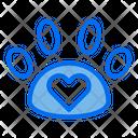 Paw Love Pet Care Icon