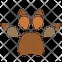 Paw Pawprint Animal Icon