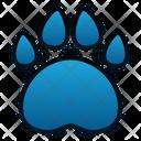 Paw Print Pet Animal Icon