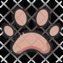 Paw symbol Icon