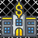 Pawn Shop Dollar Building Icon