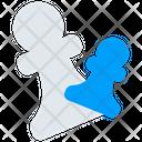Figure Pawn Pawns Icon