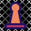 Chess Pawn Figure Icon