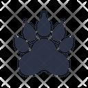 Pawprint Bear Animal Icon