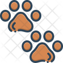 Pawprints Veterinarian Animal Icon