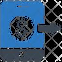Pay Dollar Transfer Icon