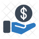 Pay Dollar Cash Icon