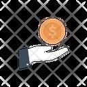 Pay Dollar Coin Icon