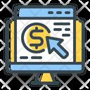 Pay Click Web Icon