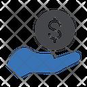 Pay Dollar Money Icon