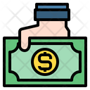 Hand Money Currency Icon