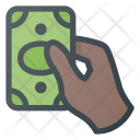 Pay Hand Cash Icon