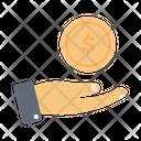 Dollar Pay Market Icon