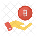Pay bitcoin Icon