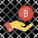 Pay Bitcoin Money Icon