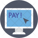 Pay Online Money Icon