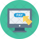 Pay Online Shopping Icon
