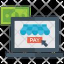 Pay Per Click Cost Per Click Digital Marketing Icon