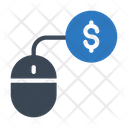 Payperclick Mouse Dollar Icon