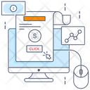 Online Earning Making Money Ppc Icon
