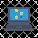 Pay Per Click Bitcoin Cursor Icon