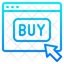 Buy Shopping Online Icon