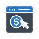 Payperclick Online Webpage Icon