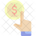 Pay Per Click Payment Dollar Symbol Icon