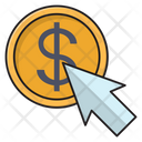 Pay Click Online Icon