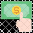 Money Hand Click Icon
