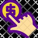 Hand Banking Economy Icon